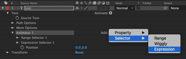 AE表达式|37、怎样单独控制文字层的每一个文字?-表达式选择器Expression Selector基础