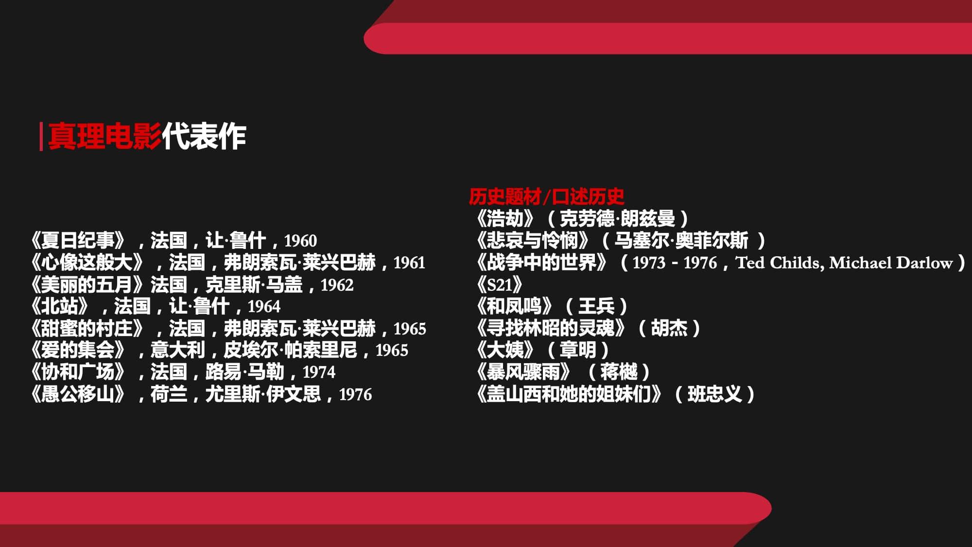 """""""愛上紀錄片""""創作培訓營:樊啟鵬--大師·類型·流派【筆記+感悟】-向安宇个人网站"""
